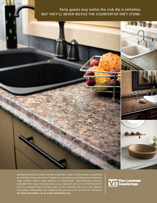 High End Laminate Kitchen Countertops