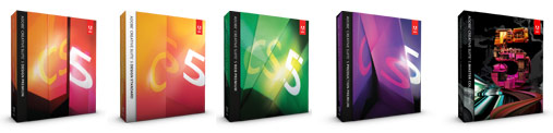Adobe CS5 Product Images
