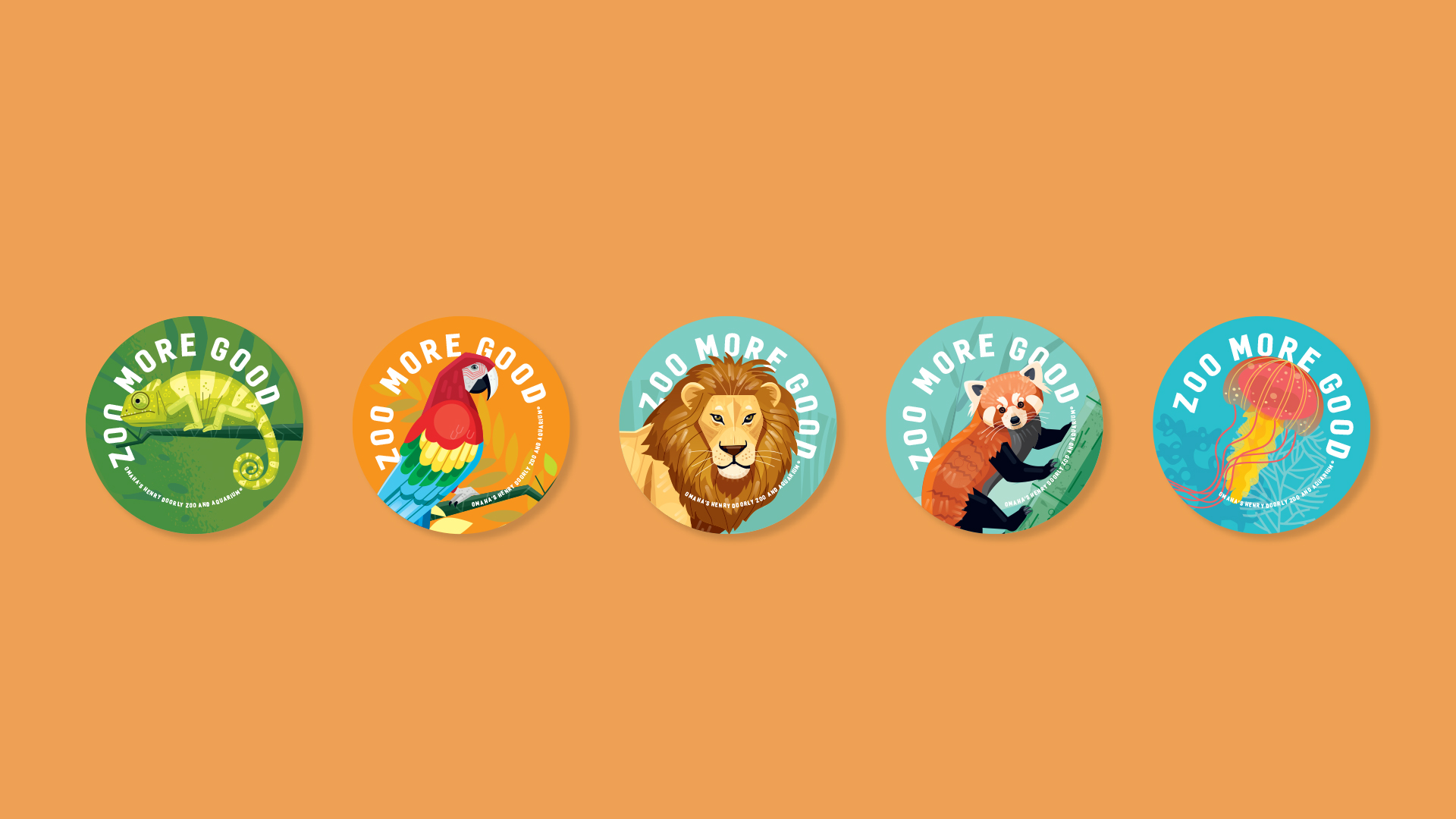 Zoo More Good Stickers