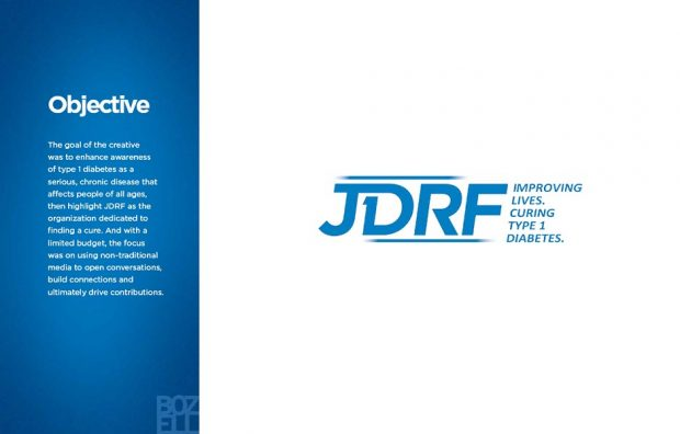 The goal of the creative