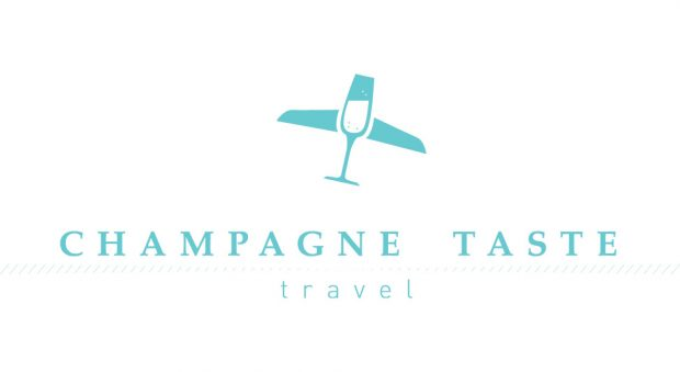 Hannah wanted a simple, classy logo for her at-home travel agency