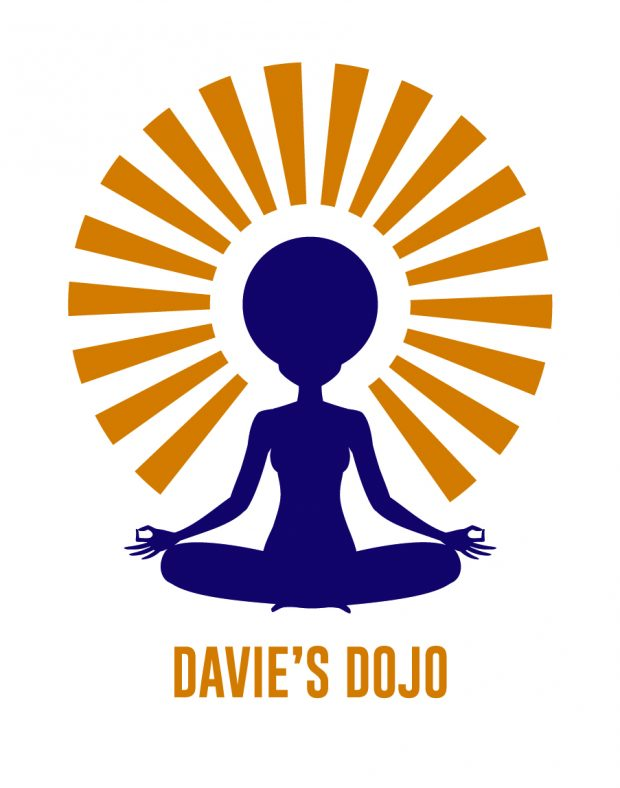 Davie's Dojo was looking for a logo promoting peace, balance, and positive energy
