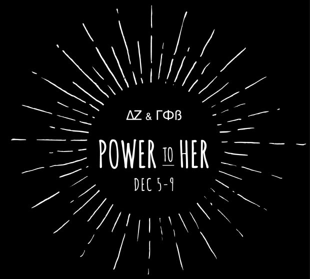 Delta Zeta needed a Facebook profile image for their upcoming, week-long Power to Her fundraiser for the Women's Shelter for Advancement