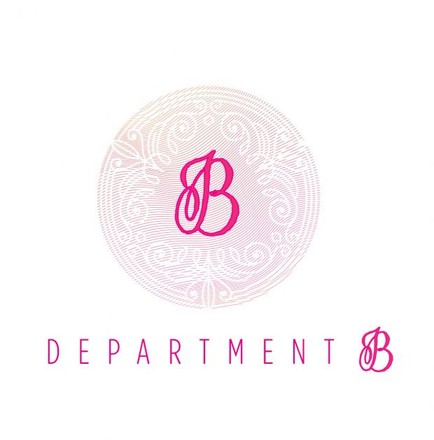 Dept B asked for a logo for its new start up calligraphy company
