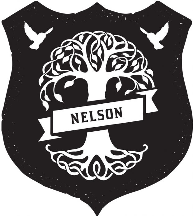 The Nelsons were looking for family crest