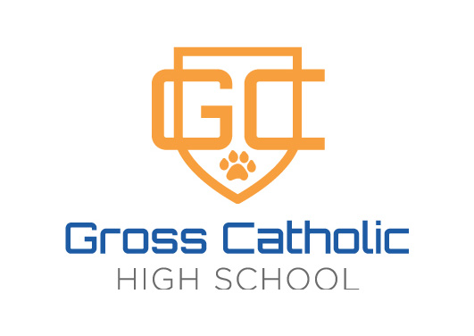 Gross High School wanted an update logo to celebrate its 50th anniversary and incorporated its cougar mascot