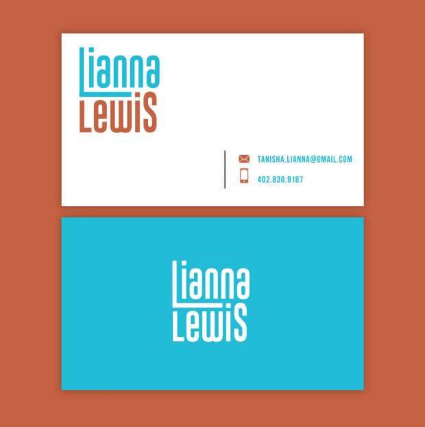 Lianna Lewis asked for a business card targeting casting directors and agencies