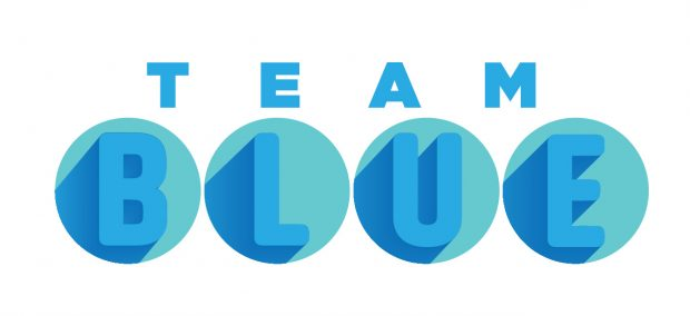 Goodwill Industries wanted a new logo created for its internal employee engagement team, Team BLUE