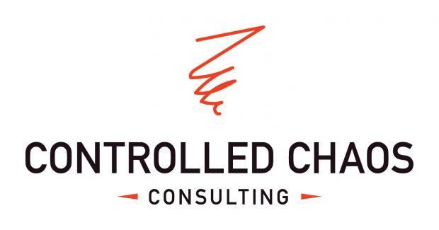 Controlled Chaos wanted a professional and trustworthy logo for its consulting company